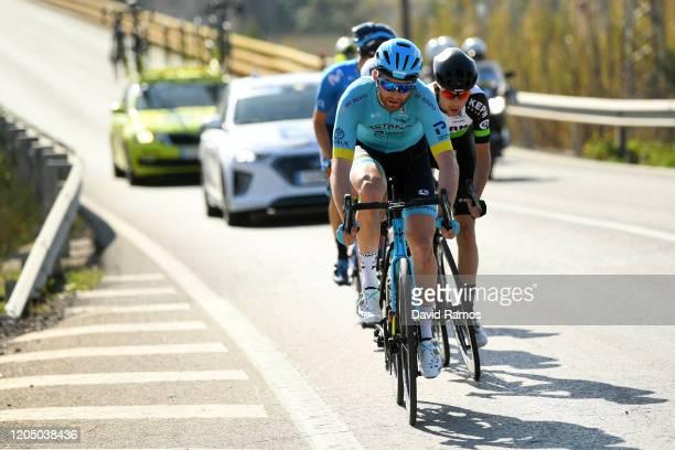 Hugo Houle of Canada and Astana Pro Team / Jon Agirre of Spain and Team Equipo Kern Pharma / during the 71st Volta a la Comunitat Valenciana 2020,...
