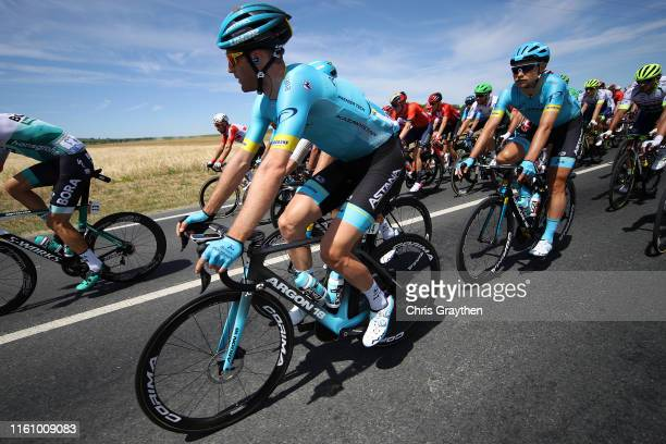 Hugo Houle of Canada and Astana Pro Team / Magnus Cort Nielsen of Denmark and Astana Pro Team / during the 106th Tour de France 2019, Stage 4 a...