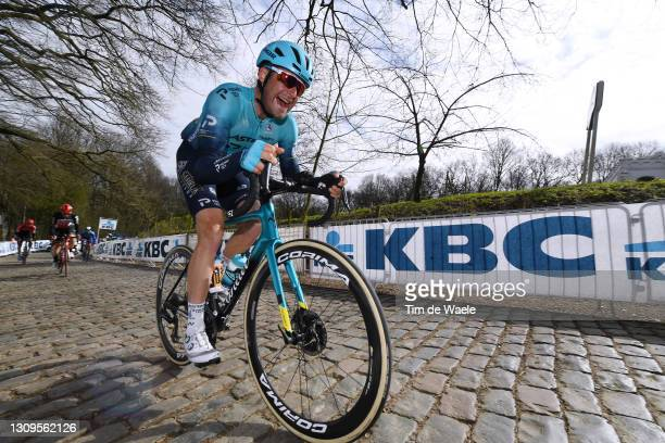 Hugo Houle of Canada and Team Astana – Premier Tech during the 83rd Gent-Wevelgem in Flanders Fields 2021, Men's Elite a 254km race from Ypres to...