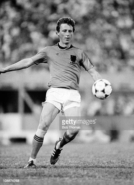 Hugo Hovenkamp in action for Holland against Uruguay in the Copa De Oro at the Centenario Stadium in Montevideo January 1981 The match ended in a 11...