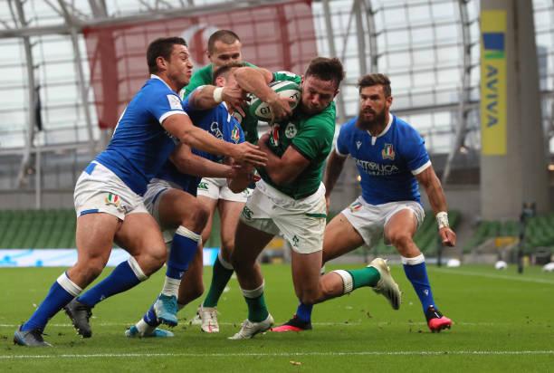 IRL: Ireland v Italy - Guinness Six Nations