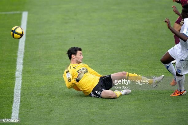 Hugo LLORIS / But Alain TRAORE Auxerre / Lyon 35e journee Ligue 1