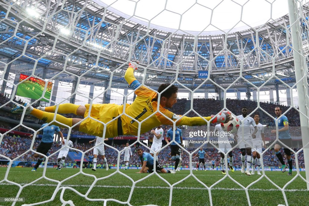 Uruguay v France: Quarter Final - 2018 FIFA World Cup Russia : News Photo