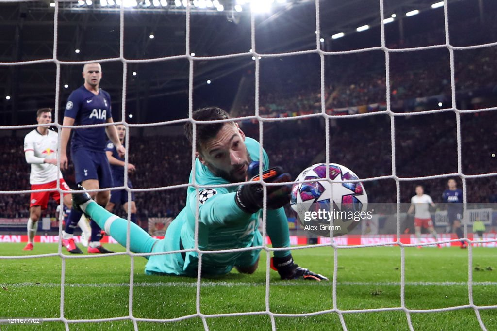 RB Leipzig v Tottenham Hotspur - UEFA Champions League Round of 16: Second Leg : News Photo
