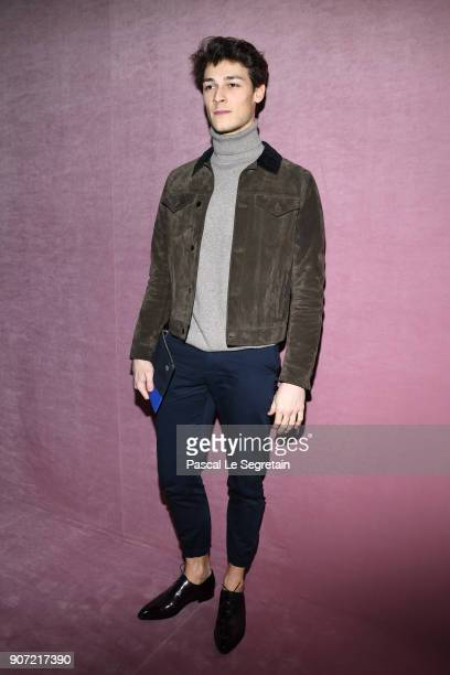 Hugo Marchand attends the Berluti Menswear Fall/Winter 20182019 show as part of Paris Fashion Week on January 19 2018 in Paris France