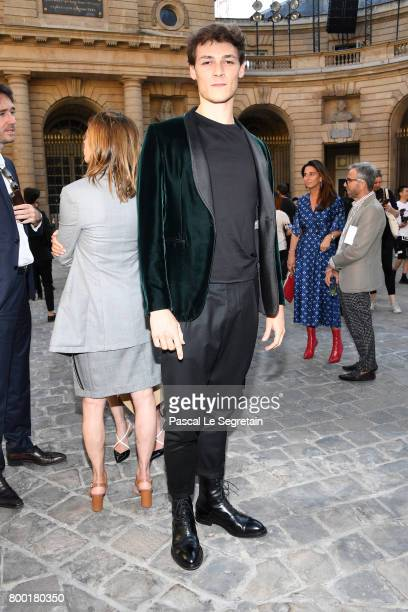 Hugo Marchand attends the Berluti Menswear Spring/Summer 2018 show as part of Paris Fashion Week on June 23 2017 in Paris France