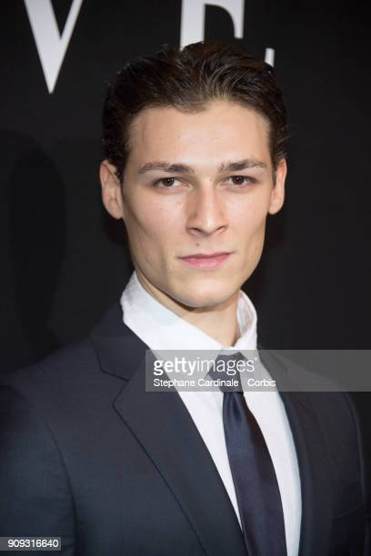 Hugo Marchand attends the Giorgio Armani Prive Haute Couture Spring Summer 2018 show as part of Paris Fashion Week January 23 2018 in Paris France