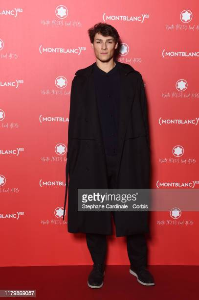 Hugo Marchand attends the Montblanc Launch Collection To Benefit RED on October 08 2019 in Paris France