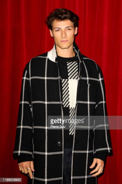 Hugo Marchand attends the Phipps Menswear Fall/Winter 20202021 show as part of Paris Fashion Week on January 14 2020 in Paris France