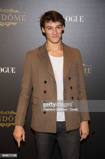 Hugo Marchand attends Vogue Party as part of the Paris Fashion Week Womenswear Spring/Summer 2018 at on October 1 2017 in Paris France