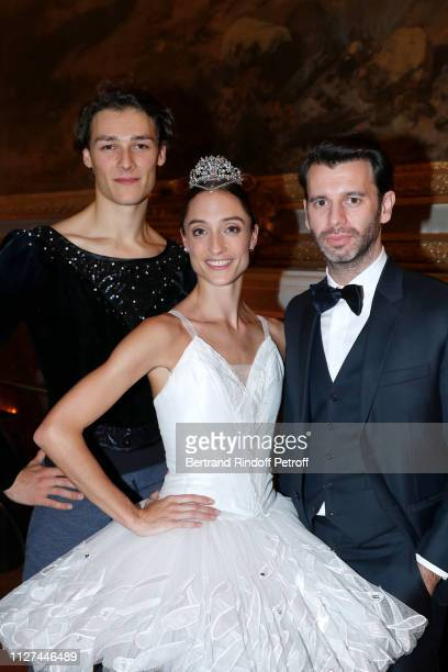 Hugo Marchand Dorothee Gilbert and her husband James Bort attend the 19th Gala Evening of the Paris Charter Against Cancer under the patronage of...