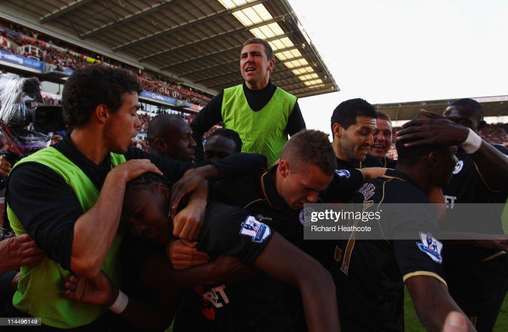 Stoke City v Wigan Athletic - Premier League : News Photo