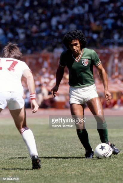 Hugo SANCHEZ Mexique / Canada Qualifications Coupe du Monde1982