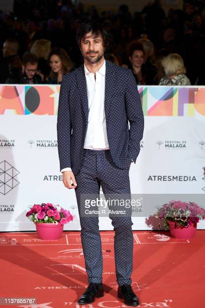 Hugo Silva attends the 'Retrospeciva' award ceremony during the 22th Malaga Film Festival on March 22 2019 in Malaga Spain