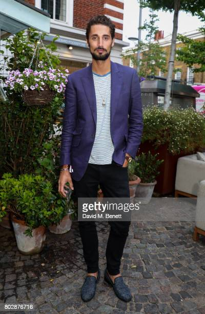 Hugo Taylor attends the Taylor Morris Eyewear x Aspall Tennis Classic Player's Party at Bluebird Chelsea on June 28 2017 in London England