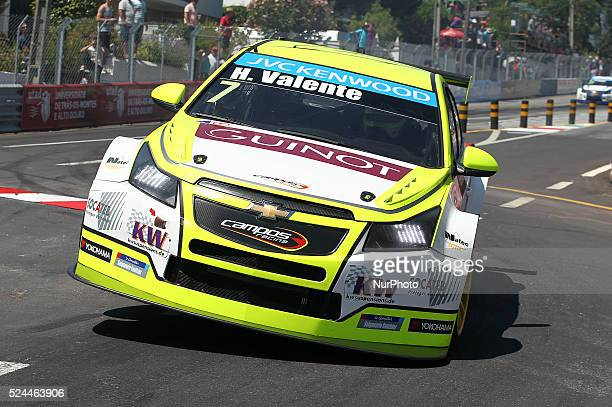 Hugo Valente in Chevrolet RML Cruze TC1 of Campos Racing during the FIA WTCC 2015 Qualifying at Vila Real in Portugal on July 11 2015