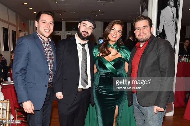 Hugo Valverde Richard Rozen Anna Echandi and Andres Soto attend Opera and Couture Radmila Lolly at Carnegie Hall on April 20 2018 in New York City