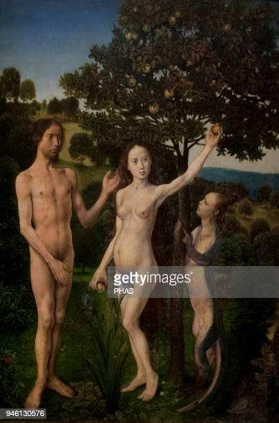 Hugo van der Goes The Vienna Diptych or Fall and Redemption of Man Oil on oak 14671468 Kunsthistorisches Museum Vienna Austria