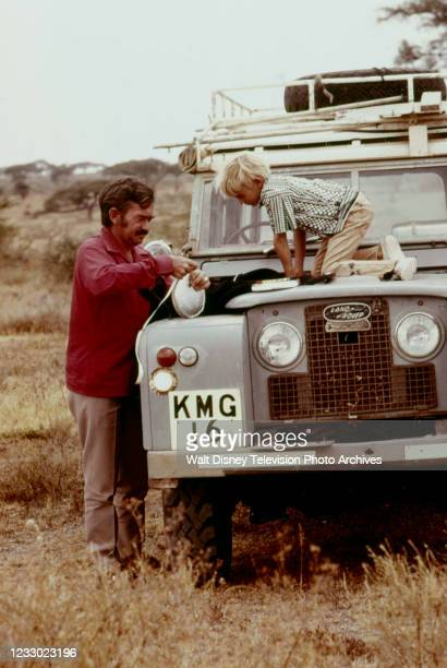 Hugo Van Lawick, Hugo Eric Louis van Lawick appearing on the ABC tv special 'Jane Goodall and the World of Animal Behavior: The Lions of the...