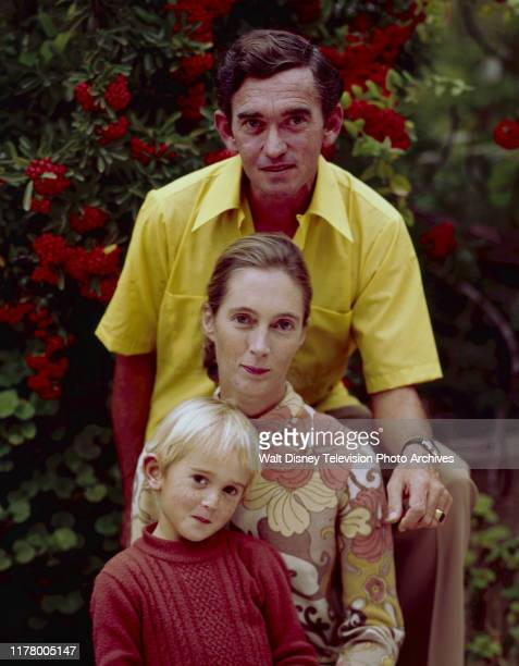 Hugo van Lawick, Jane Goodall, Hugo Eric Louis van Lawick appearing on the ABC tv special 'The Wild Dogs of Africa'.