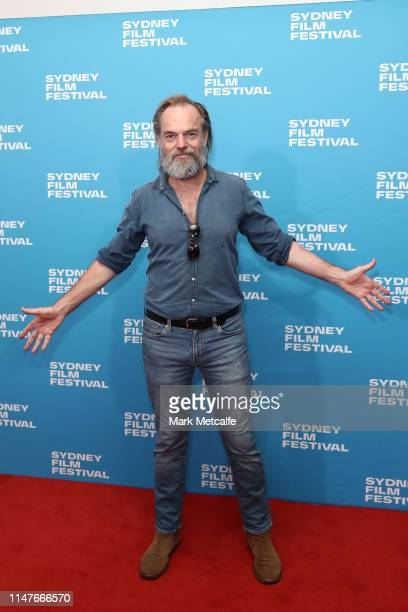 Hugo Weaving attends the 66th Sydney Film Festival Program Launch at Sydney Town Hall on May 08 2019 in Sydney Australia