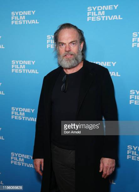 Hugo Weaving attends the world premiere of Hearts and Bones during the Sydney Film Festival at State Theatre on June 15 2019 in Sydney Australia