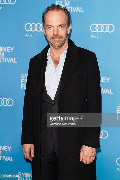 Hugo Weaving attends the world premiere of Mystery Road on opening night of the Sydney Film Festival at the State Theatre on June 5 2013 in Sydney...