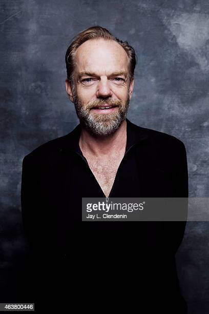 Hugo Weaving is photographed for Los Angeles Times on January 24 2015 in Park City Utah PUBLISHED IMAGE CREDIT MUST READ Jay L Clendenin/Los Angeles...