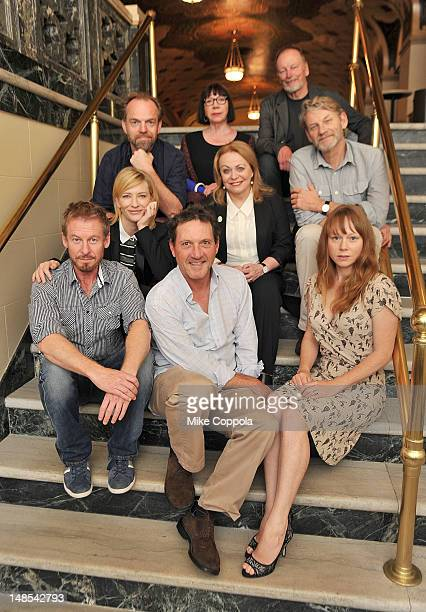 Hugo Weaving Sandy Gore John Bell Cate Blanchett Jacki Weaver Andrew Tighe Richard Roxburgh Andrew Tighe and Hayley McHlhinney attend the 2012...