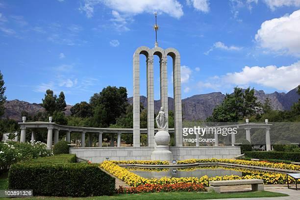 Huguenot memorial in franschhoek, south africa