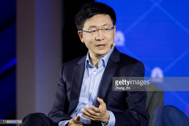 Hui Cheng, Head of JDX Silicon Valley Research Center of JD.com speaks with DR. Brian Gu, Vice Chairman and President of XPENG Motors, DR.Li Yan, CEO...
