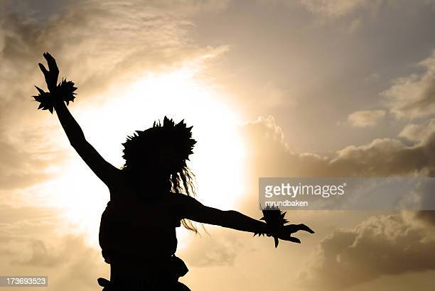 Hula Dancer Silhouette