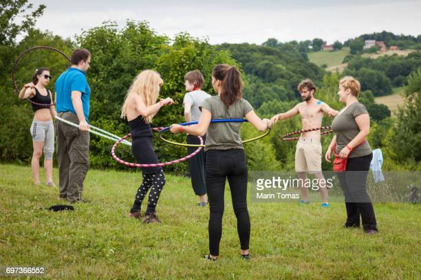 Hula hoop learning