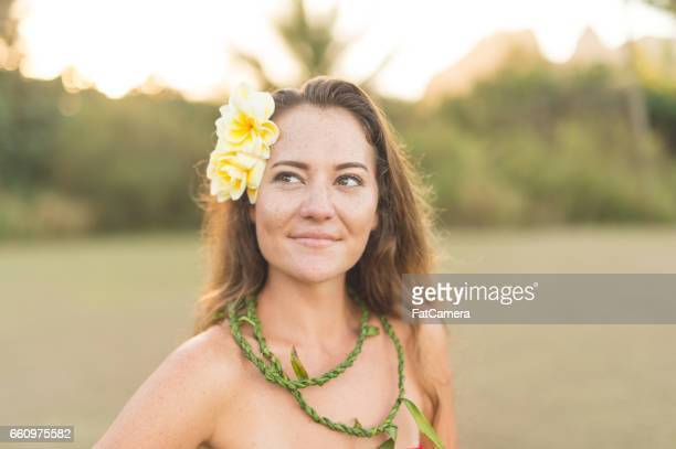 hula rehearsal! - lei day hawaii stock pictures, royalty-free photos & images