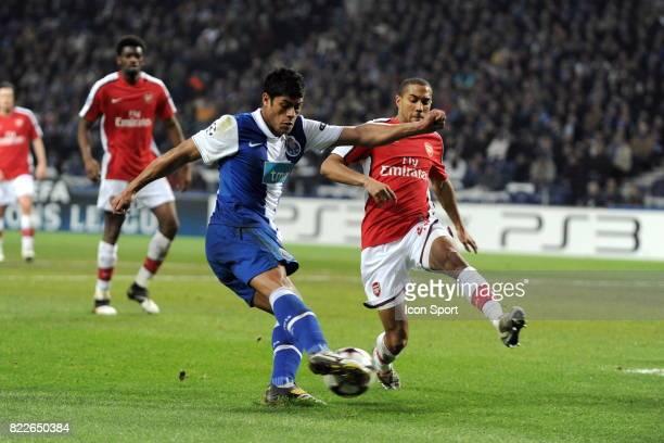 Hulk FC Porto / Arsenal 1/8 de Finale de la Ligue des Champions League Stade du Dragon