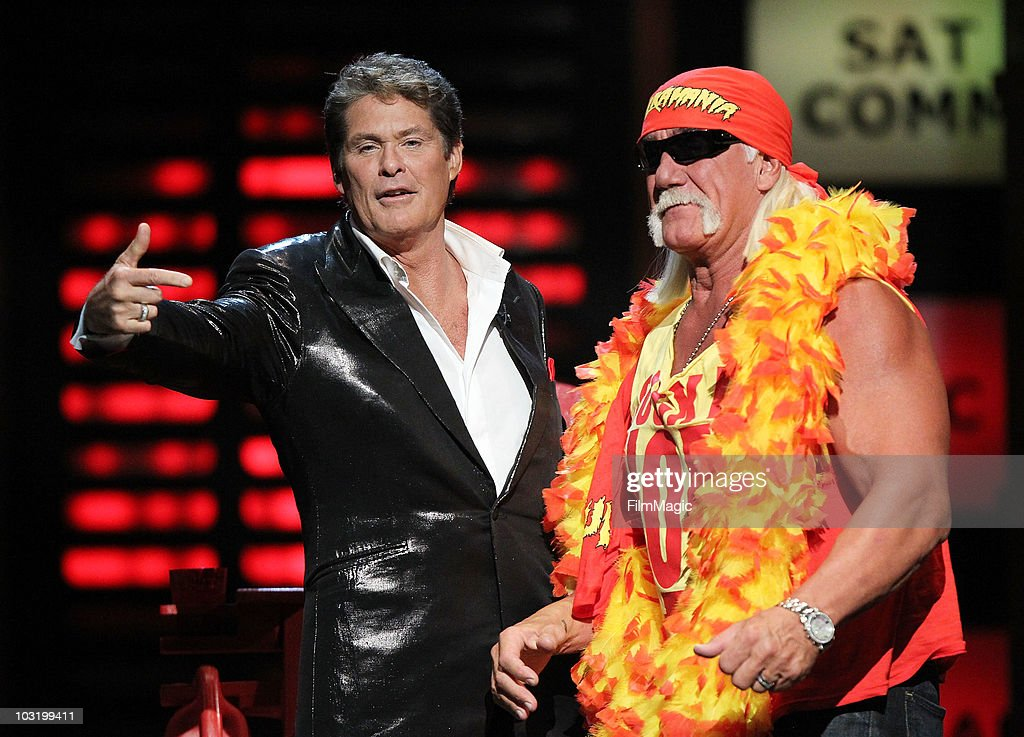 Comedy Central Roast Of David Hasselhoff - Show : News Photo