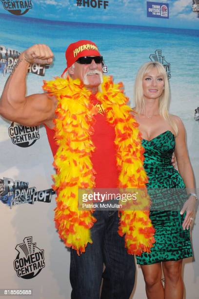 Hulk Hogan and Jennifer McDaniel attend COMEDY CENTRAL ROASTS DAVID HASSELHOFF at Sony Pictures Studios on August 1 2010 in Culver City CA
