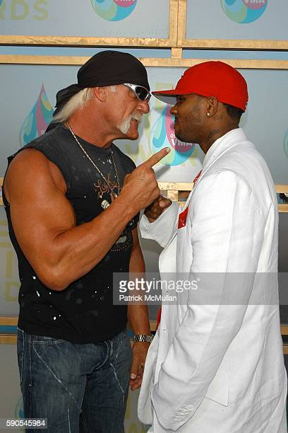 Hulk Hogan and The Game attend ARRIVALS2005 MTV Video Music Awards at American Airlines Arena on August 28 2005 in Miami FL