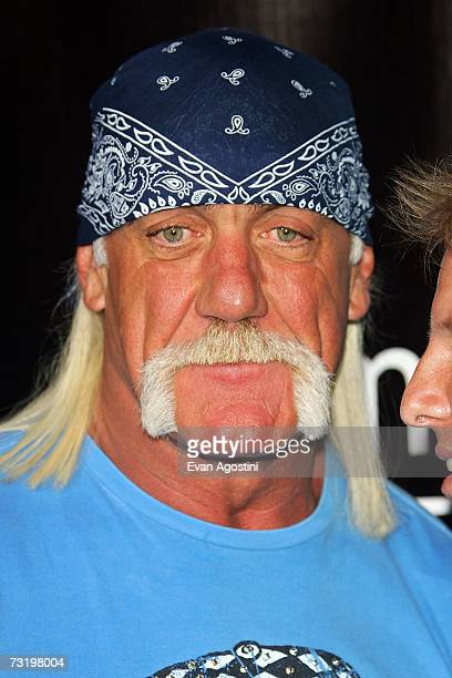 Hogan road stock photos and pictures getty images hulk hogan arrives for the marketamericacom super xli party at 8th street and ocean drive on pmusecretfo Gallery