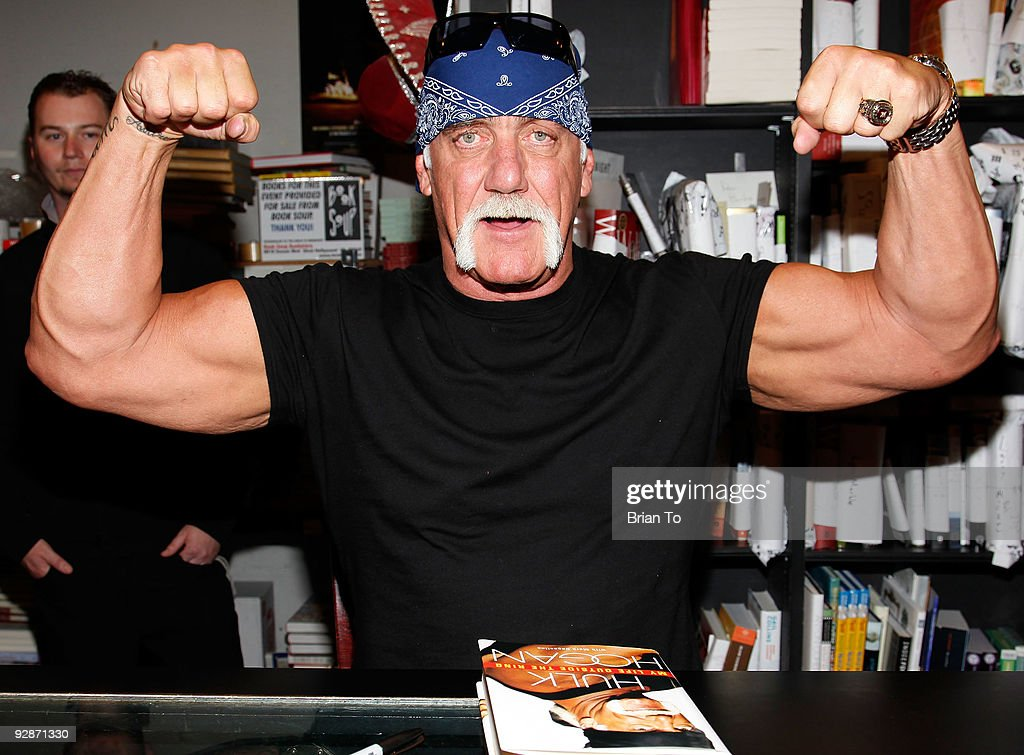 "Hulk Hogan Signs Copies Of ""My Life Outside The Ring"" At Book Soup"