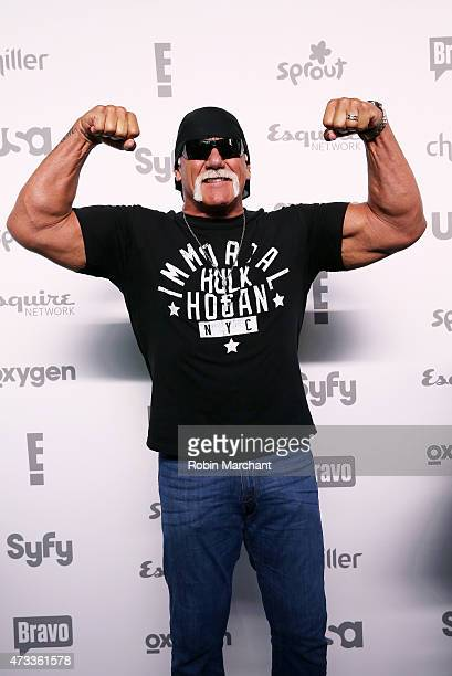 Hulk Hogan attends the 2015 NBCUniversal Cable Entertainment Upfront at The Jacob K Javits Convention Center on May 14 2015 in New York City