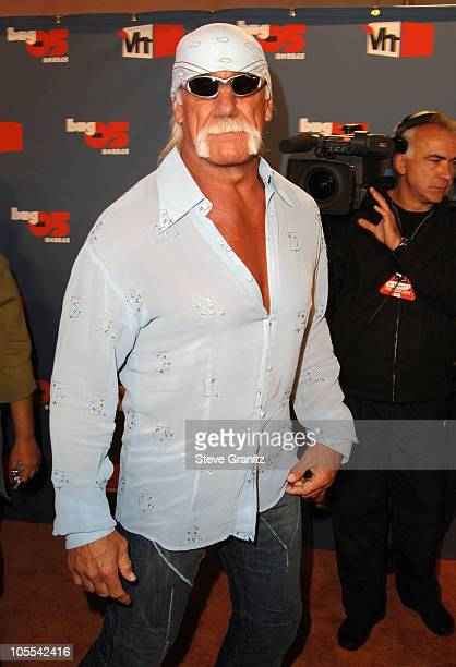 Hulk Hogan during VH1 Big in '05 Arrivals at Sony Studios in Culver City California United States