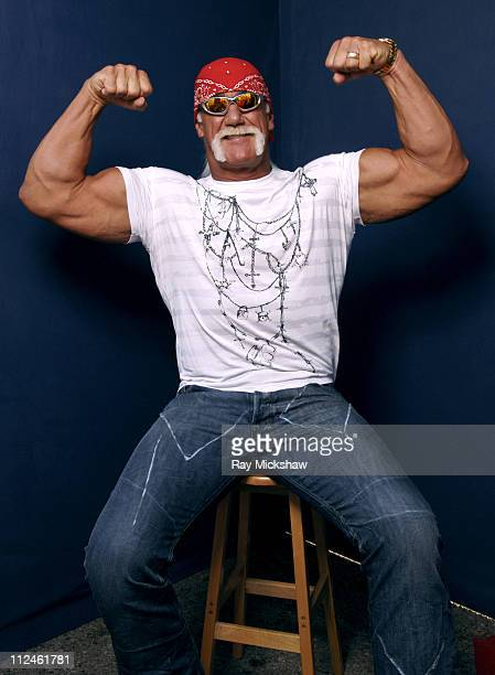 Hulk Hogan *Exclusive Coverage* during 2005 Teen Choice Awards - Portraits at Gibson Amphitheatre in Universal City, California, United States.