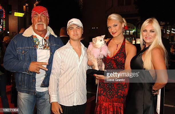 Hulk Hogan, Nick Hogan, Brooke Hogan and Linda Hogan
