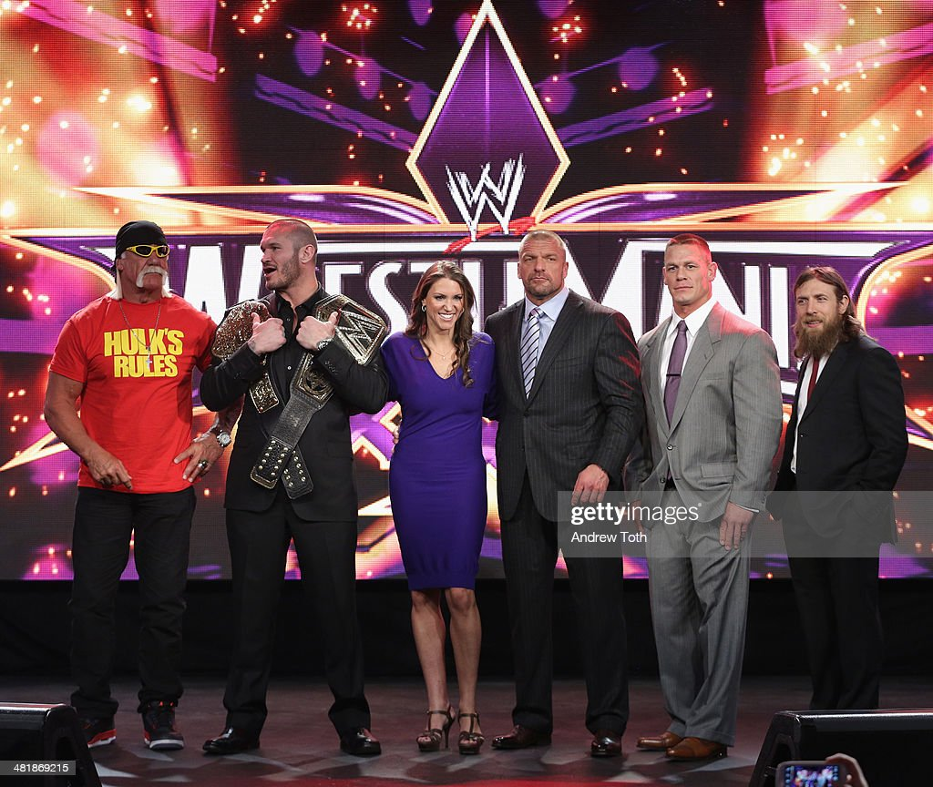 WrestleMania 30 Press Conference : News Photo