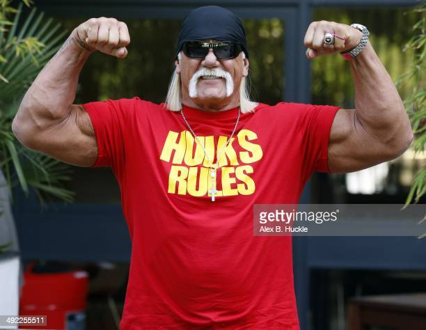 Hulk Hogan sighted at the ITV Studios in London England