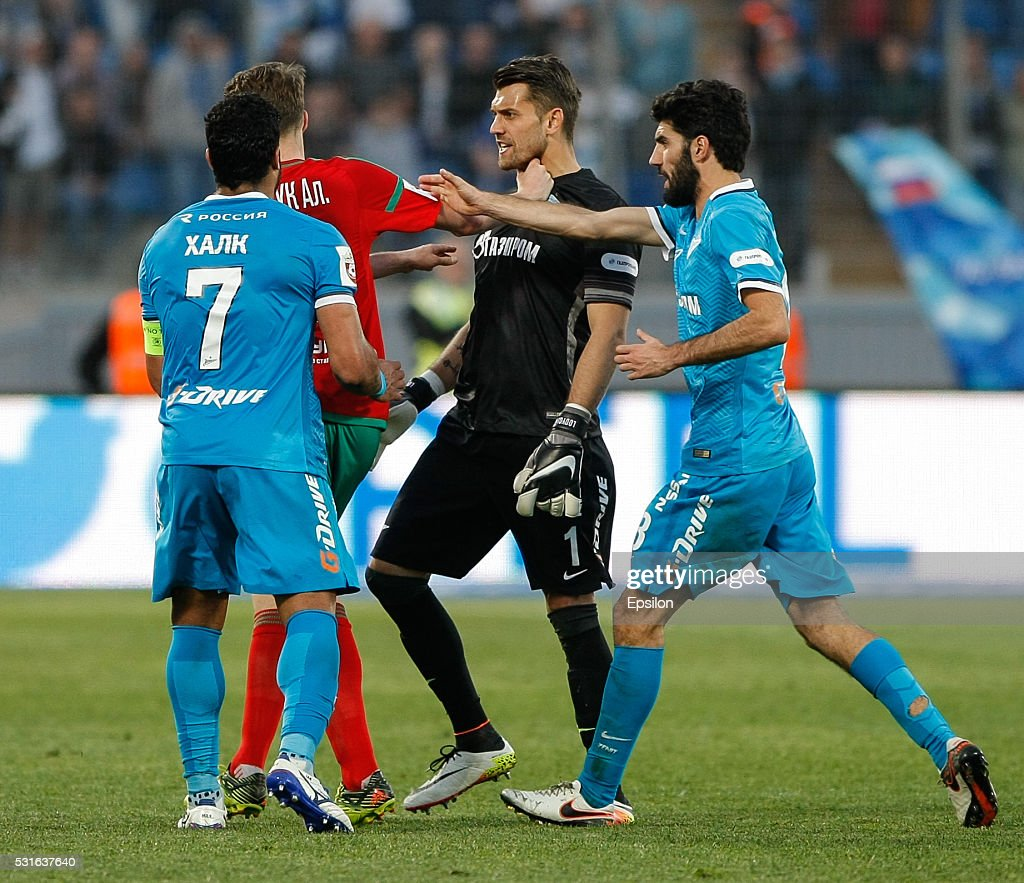 Zenit St Petersburg v Lokomotiv Moscow - Russian Premier League