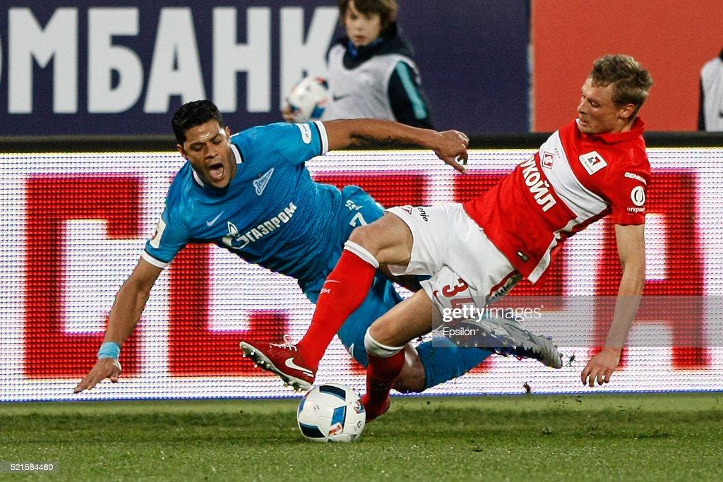 Zenit St Petersburg v FC Spartak Moscow - Russian Premier League