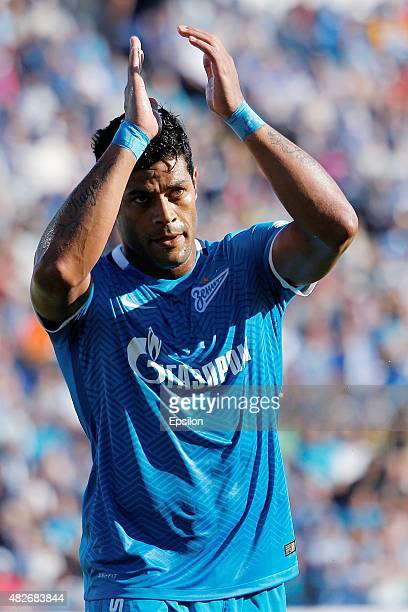 Hulk of FC Zenit St Petersburg during the Russian Football League match between FC Zenit St Petersburg and FC Terek Grozny at the Petrovsky stadium...