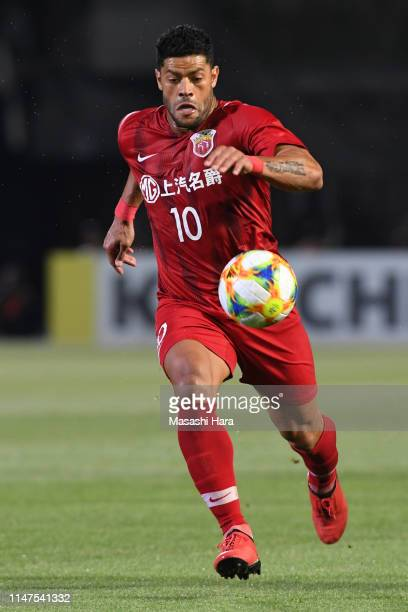 Hulk of Shanghai SIPG in action during the AFC Champions League Group H match between Kawasaki Frontale and Shanghai SIPG at Todoroki Stadium on May...